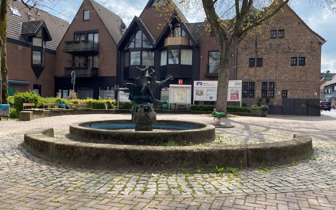 Marktplatz in Oedt